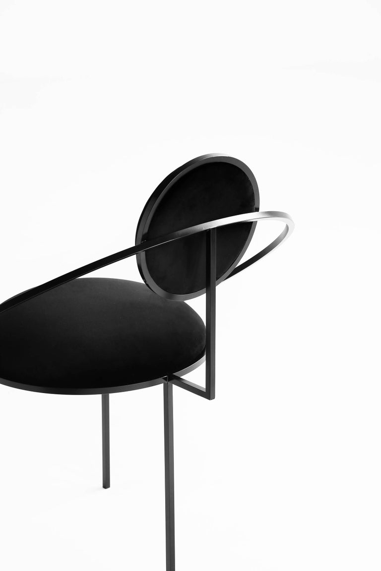This is the first time that Bohinc explores a design favourite; the chair, produced by Matter of Stuff. 
