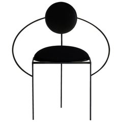Orbit Chair in Black by Lara Bohinc