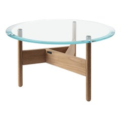Orbital Glass Coffee Table by Atipico