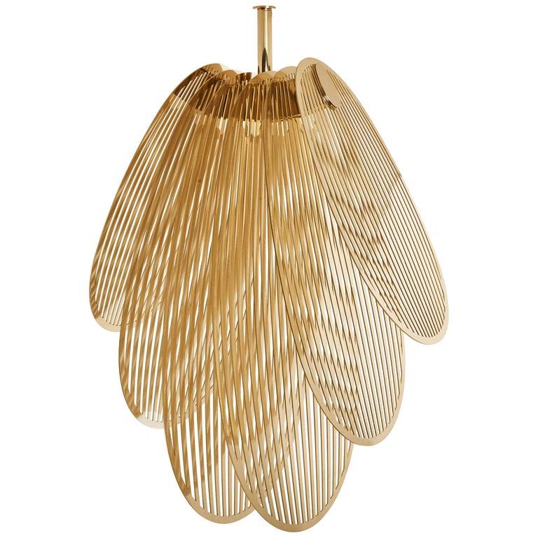 Mydriaz for Galerie Philia Furniture Orchidée Ajourée pendant light, new