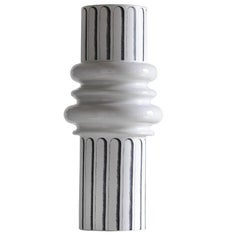Ordini Large Vase with White and Black Decoration by Analogia Project for Driade