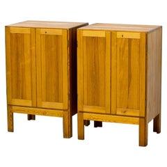 Oregon Pine Cabinets by Børge Mogensen, 1960s, Set of 2