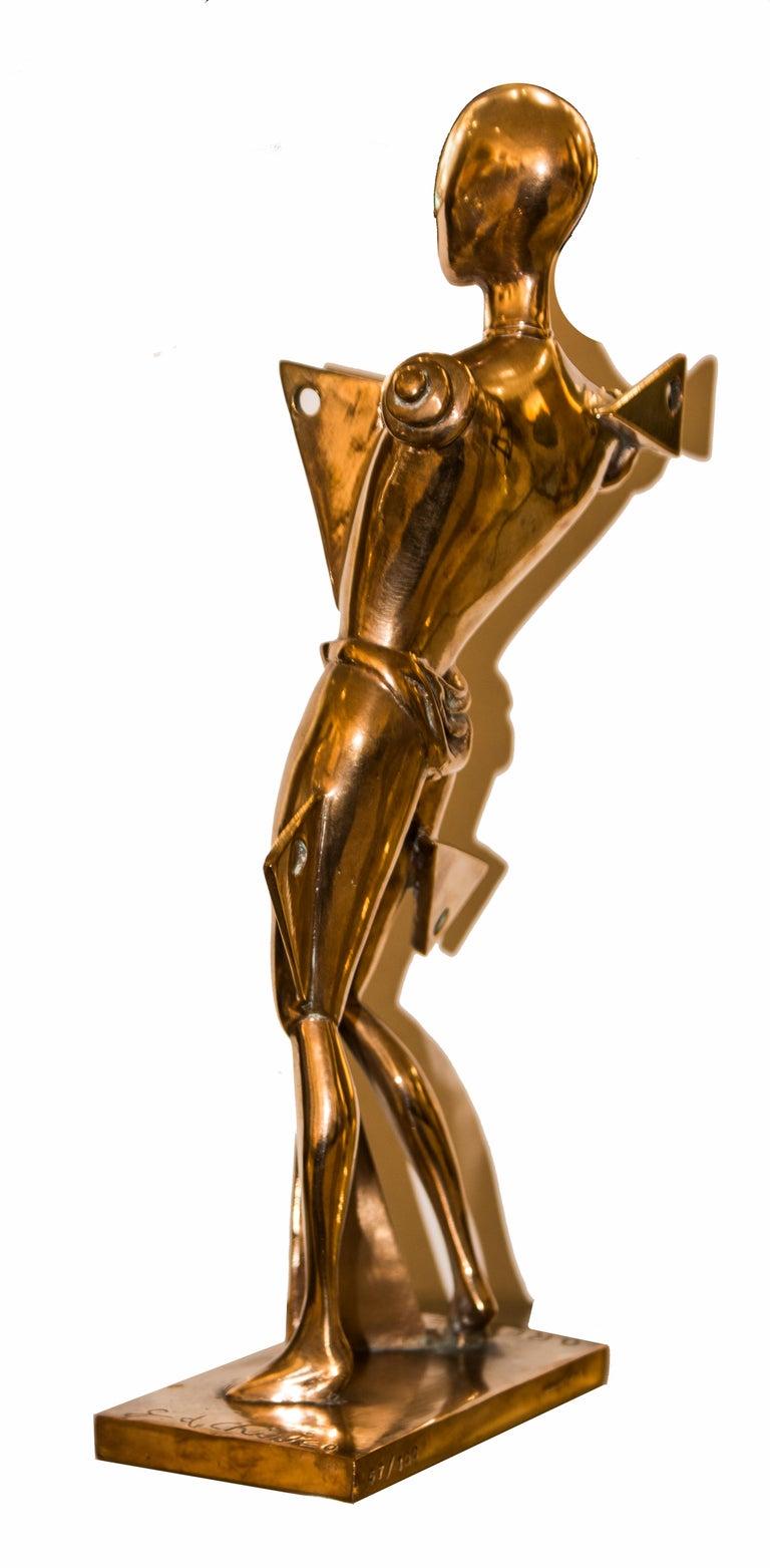 Italian Orest, Lost-Wax Cast Statue by Giorgio De Chirico, 1985 For Sale