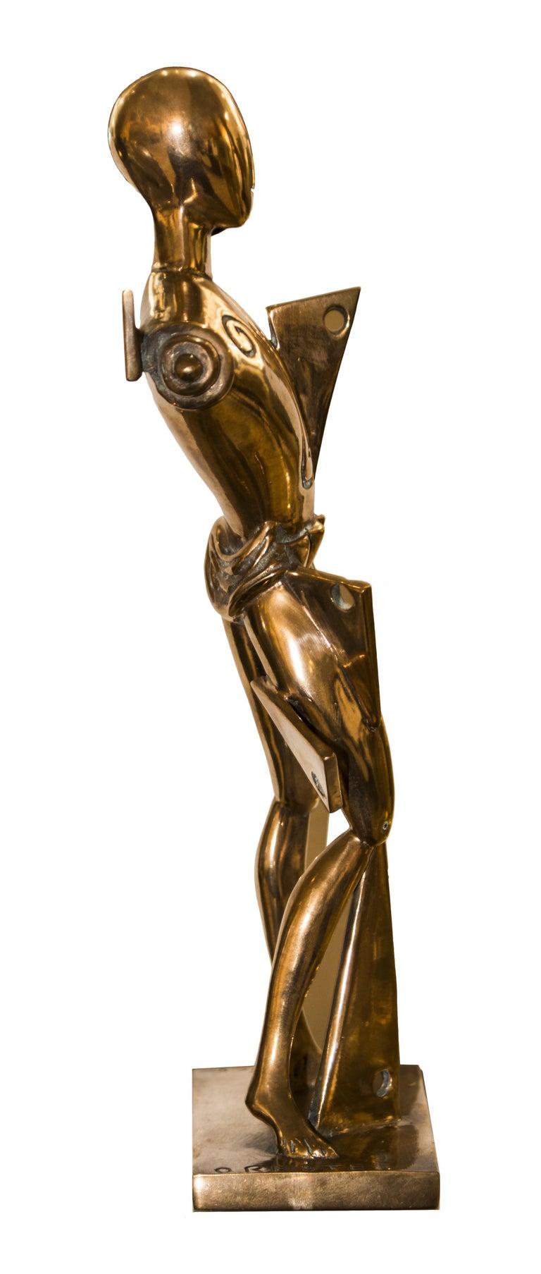 20th Century Orest, Lost-Wax Cast Statue by Giorgio De Chirico, 1985 For Sale