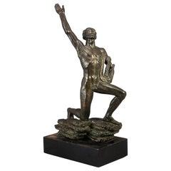 Orfeus, Sculpture by David Wretling