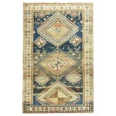Organic Antique Caucasian Rug