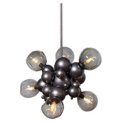"Organic ""Bubbly"" Cluster Chandelier in Oil-Rubbed Bronze"