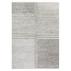 Organic Checker Contemporary Rug  10' x 14'