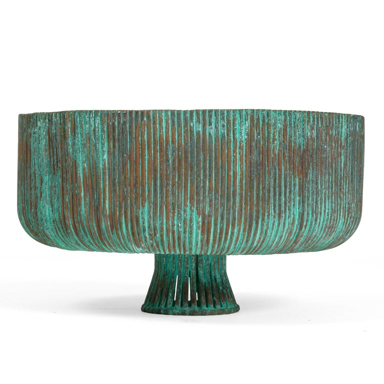 American Organic Form Patinated Copper Rod Sculpture by Douglas Ihlenfeld, USA 2016 For Sale