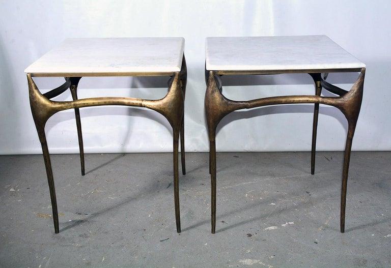 Organic Modern Organic Freeform Side Table For Sale