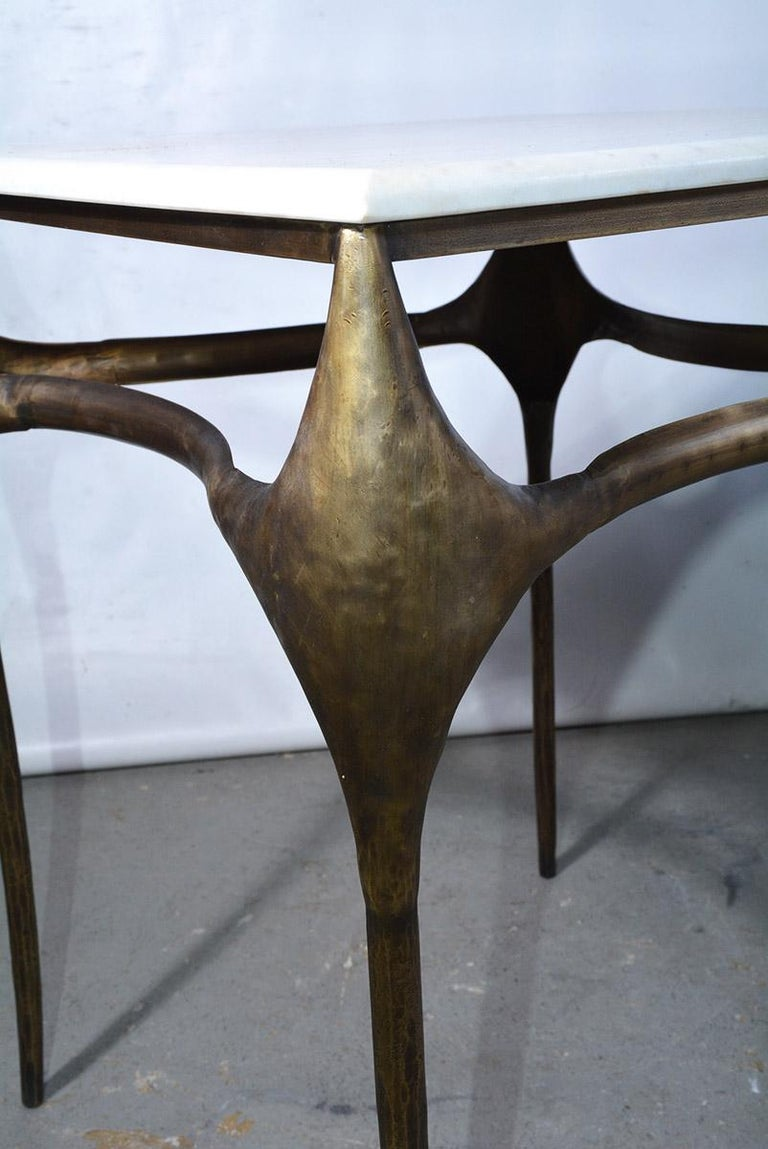 Organic Freeform Side Table In Good Condition For Sale In Great Barrington, MA