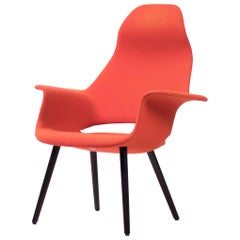Organic High Back Chair by Charles Eames & Eero Saarinen