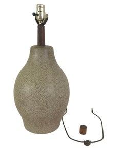 Organic Mid Century Modern Martz Ceramic Table Lamp