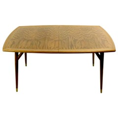 Organic Mid Century  Oak Dining Table by Jack Van der Molen for Jamestown