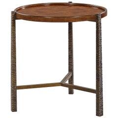 Organic Modern Burl Top Table