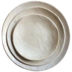Organic Modern Porcelain Ryman Dinner Plates Serveware