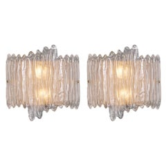 Organic Murano Glass Wall Sconces