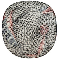 Organic Shape Squared Rug High Performance Fibers by Deanna Comellini 190x200 cm