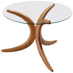 Organic Shaped Tripod Coffee Table