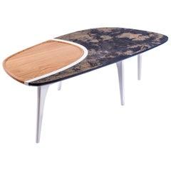 Organic Slate Designer's Centre Table, France, 2016
