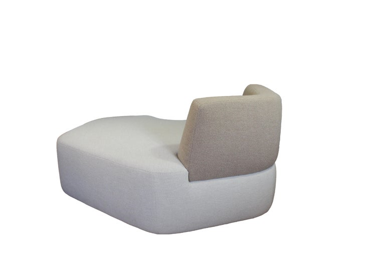 Pierre sofa was inspired by a photographic work Eric Gizard did in the summer of 2019 in Turkey. From white pebbles cleaned and rounded by the sea, he assembled some of them into abstract forms, joining together in organic articulation.  Pierre is a