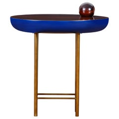 """ORGANIC"" Wood and Lacquer Lateral Table"