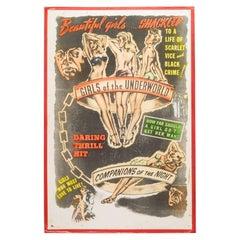 "Original ""Sexplotation"" Movie Poster Card, circa 1940"
