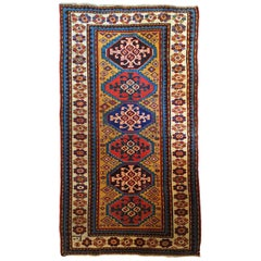 638 - Oriental Carpet, 19th Century, kazak
