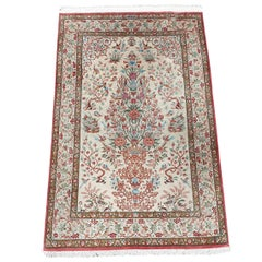 Oriental Carpet, Handwoven 19th Century, Wool