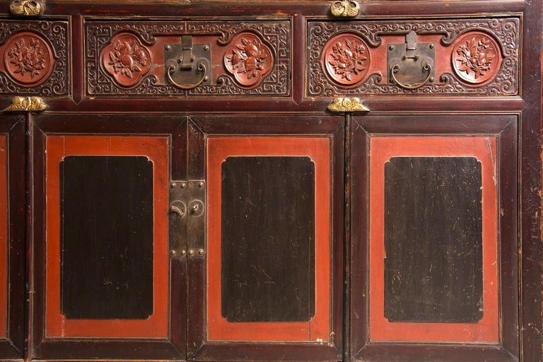 Neoclassical Oriental Cupboard, Possibly China, 19th Century For Sale