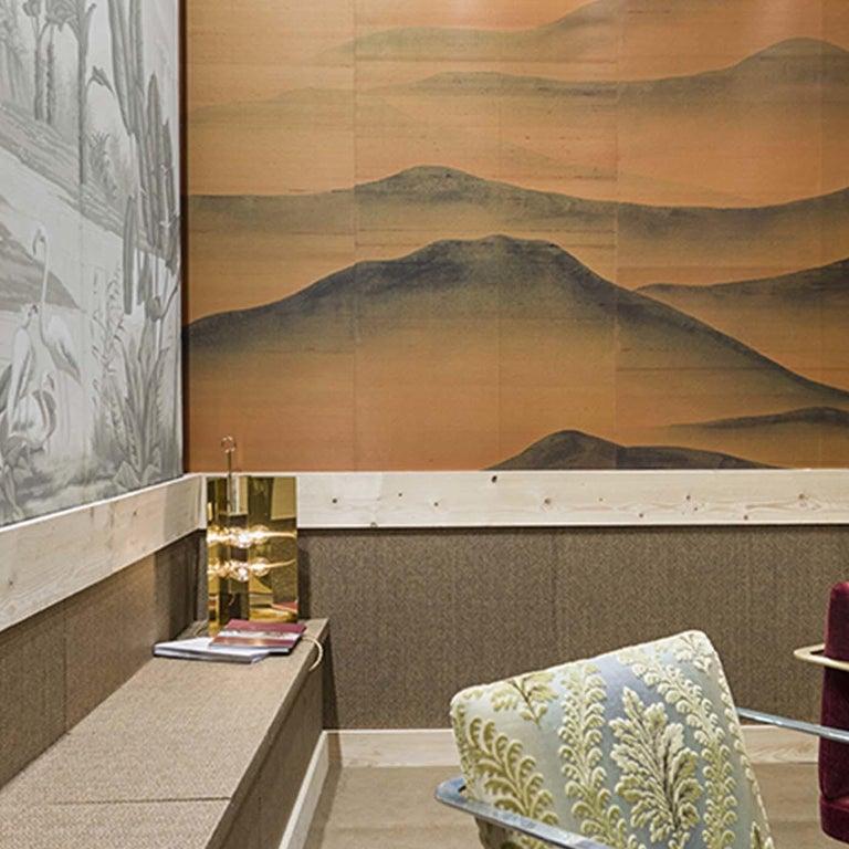 Italian Oriental Mountains Wallpaper For Sale