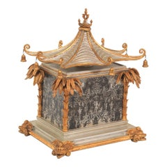 Oriental Pavilion Style Vanity Casket