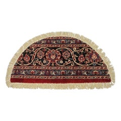 Oriental Rug Dust Barrier Interior Door Way, Handmade Carpet Mat Entrance way