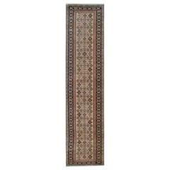 Oriental Rug Modern Kazak Runner Rugs, Handmade Stairway Carpet Rug