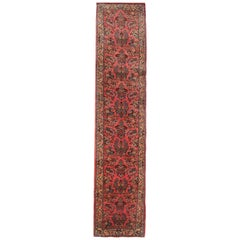 Oriental Rugs and Runners, Red Wool Runner Rug Handmade Oriental Carpet
