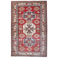 Oriental Rugs, Handmade Carpet Red Kazak Rugs for Sale