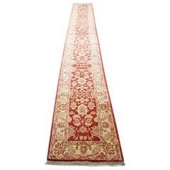 Oriental Runner Rug, Handmade Long Hallway Carpet / Stairway Rug