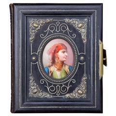 Orientalist Leather Photograph Album, 19th Century