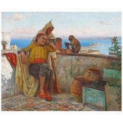 Orientalist Oil Painting