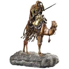 Orientalist Statue by Franz Bergmann