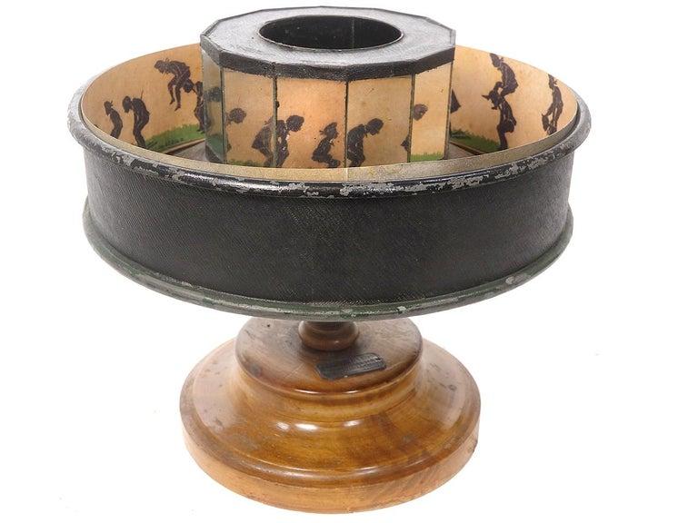 German Original 1800s Praxinoscope For Sale