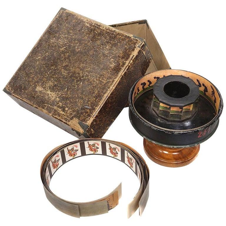Original 1800s Praxinoscope For Sale