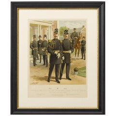 """Original """"1902-1907 Officers of the Staff Corps"""" by C. Ogden, 1908"""