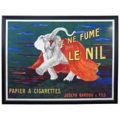 Original 1912 Cappiello Leonetto Je Ne Fume Que Le Nil Smoking Cigarettes Poster