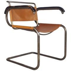 Original 1929 Marcel Breuer B46 Variant Armchair by Thonet Sidam