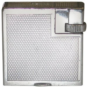 Original 1930s Silver Plated Dunhill Cigarette Lighter, Made in Switzerland