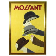Original 1938 Mossant Advertising Poster by Cappiello