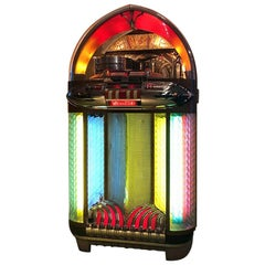 Original 1948 Wurlitzer 1100 Vinyl Jukebox