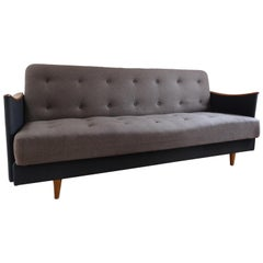 Original 1950s Danish 3-Seat Sofa or Daybed