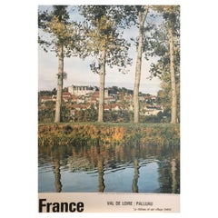 Original 1950s French Government Tourism Poster France France 'Val De Loire'